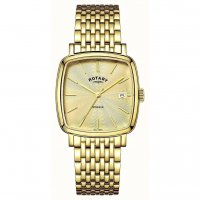 Rotary - Gents, Yellow Gold Plated Bracelet Watch