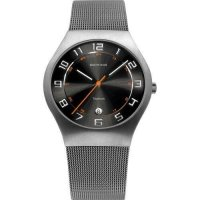 Bering - Classic, Sapphire Glass Set, Titanium Grey Watch