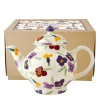 Emma Bridgewater - Wallflower, Pottery 4 Mug Teapot