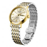 Rotary - Stainless Steel Round Face Bracelet Watch