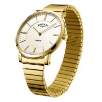 Rotary - Expander, Yellow Gold Quartz Watch