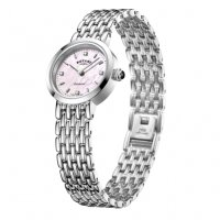 Rotary - Ladies Diamond Set Stainless Steel Balmoral