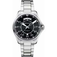 Hamilton - Khaki Aviation, Stainless Steel automatic aviation bracelet watch