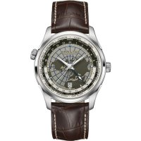 Hamilton - Jazzmaster, Stainless Steel Automatic Gmt Watch