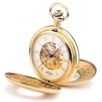Rotary - Yellow Gold Plated Pocket Watch