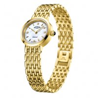 Rotary - Yellow Gold Plated Ladies Bracelet Watch
