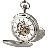 Rotary - Stainless Steel Pocket Watch
