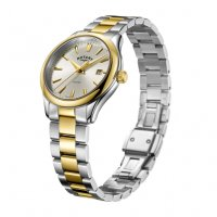 Rotary - Two Tone Gold Oxford Ladies