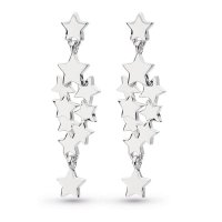 Kit Heath - Stargazer Galaxy, Sterling Silver Stud drop Earrings