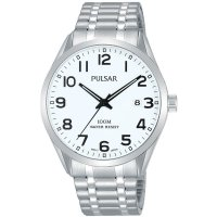 Pulsar - Stainless Steel Expandable Bracelet Watch