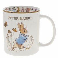 Enesco - Accessories, Ceramic Peter Rabbit Mug Limited Edition