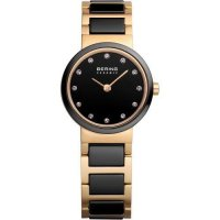 Bering - Ceramic, Yellow Gold Watch