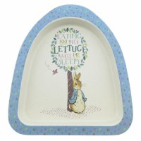 Enesco - Peter Rabbit, Bamboo Fibre Peter Rabbit Plate