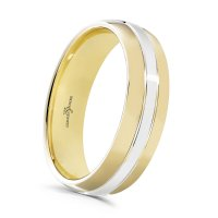 Guest and Philips - Platinum and Gold Wedding Band