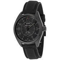 Hamilton - Khaki Field, Stainless Steel/Tungsten - Fabric - Glass/Crystal Automatic Watch, Size 42mm