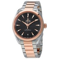 Omega - Seamaster, Rose Gold - Stainless Steel - Aqua Terra Automatic Watch, Size 41mm