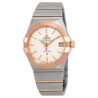 Omega - Constellation, Stainless Steel/Tungsten - Rose Gold Plated - Automatic Watch, Size 38mm