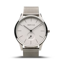 Bering - Classic, Stainless Steel Mesh Watch