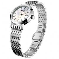 Rotary - Windsor, MOP Set, Stainless Steel/Tungsten - Crystal/Glass - Quartz Watch