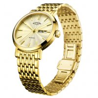 Rotary - Yellow Gold Plated Quartz Watch