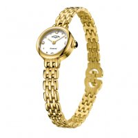 Rotary - Balmoral Diamond Set, Yellow Gold Plated  Dress Watch
