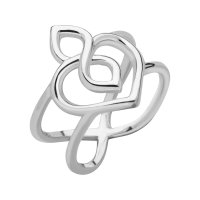 Links of London - Infinite Love, Sterling Silver - Ring, Size N