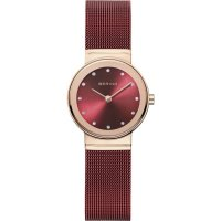 Bering - Swarovski Crystal Set, Rose Gold Plated - Watch