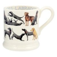 Emma Bridgewater - All Over Labrador, Half Pint Pottery Mug