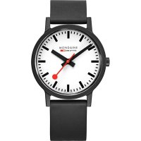 Mondaine - Essence, Plastic/Silicone - Quartz Watch, Size 41mm