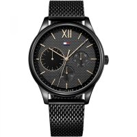 Tommy Hilfiger - Stainless Steel Mesh Bracelet Watch