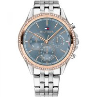 Tommy Hilfiger - Ari, Crystal Set, Stainless Steel - Bracelet Watch