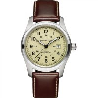 Hamilton - Khaki Field, Leather Automatic Watch
