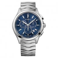 Ebel - Wave, Stainless Steel/Tungsten Chronograph Watch