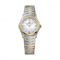 Ebel - Sport Classic, MOP Diamonds Set, Stainless Steel/Tungsten - Yellow Gold Plated - Quartz Watch