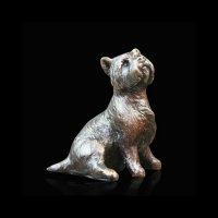 Richard Cooper - Bronze Westie Sitting 804 - 804