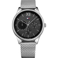 Tommy Hilfiger - Stainless Steel Mesh Chrono Watch