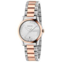 Gucci - Ladies Timeless, Stainless Steel Two Tone Watch