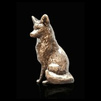 Richard Cooper - Butler & Peach, Bronze Fox Sitting 2081 - 2081