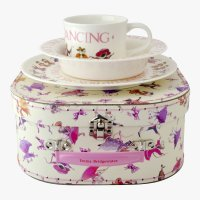 Emma Bridgewater - Dancing Mice, Plastic/Silicone 3 piece set
