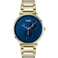 Hugo by Hugo Boss - Guide, Yellow Gold Plated Quartz Watch