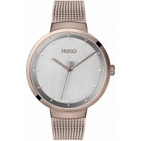 Hugo by Hugo Boss - Go, Rose Gold Plated Quartz Watch