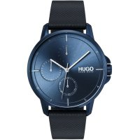 Hugo Boss - focus, Stainless Steel/Tungsten Quartz Watch