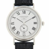 Longines - Presence, Stainless Steel Automatic Watch