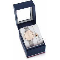 Tommy Hilfiger - Stainless Steel Watch and Bracelet Gift Set