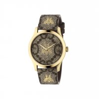 Gucci - G-Timeless, Yellow Gold Plated Bee Quartz Watch - YA1264068