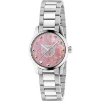 Gucci - G-Timeless, Mother of Pearl Set, Stainless Steel - Feline Head Watch
