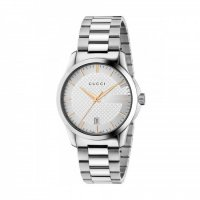 Gucci - G-Timeless, Mother of Pearl and  Diamond, Stainless Steel - Date Watch