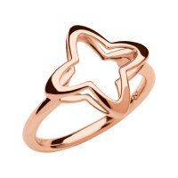 Links of London - Splendour, Sterling Silver - Rose Gold Plated - Ring, Size M