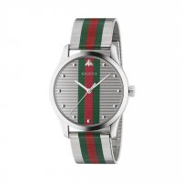 Gucci - G-Timeless, Stainless Steel Quartz Watch - YA126284