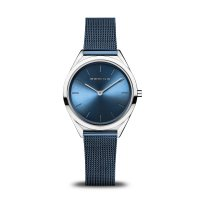 Bering - Stainless Steel Mesh Strap Watch